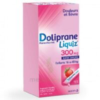 Dolipraneliquiz 300 Mg Suspension Buvable En Sachet Sans Sucre édulcorée Au Maltitol Liquide Et Au Sorbitol B/12 à DIJON