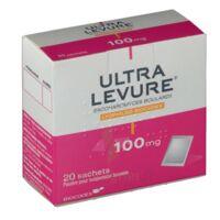 ULTRA-LEVURE 100 mg Poudre pour suspension buvable en sachet B/20 à DIJON