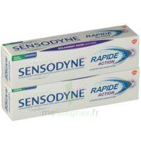 Sensodyne Rapide Pâte dentifrice dents sensibles 2*75ml à DIJON