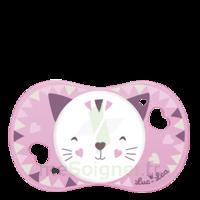 Luc et Léa Sucette symétrique +6mois chat B/1 à DIJON
