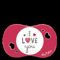 """Luc et Léa Sucette symétrique +6mois """"I love you"""" à DIJON"""