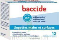 Baccide Lingette désinfectante mains & surface 12 Pochettes à DIJON