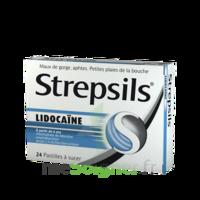 Strepsils lidocaïne Pastilles Plq/24 à DIJON