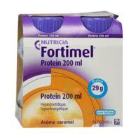 Fortimel Protein Nutriment caramel 4 Bouteilles/200ml à DIJON