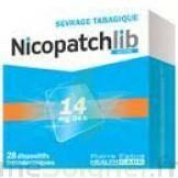 NICOPATCHLIB 14 mg/24 h Dispositifs transdermiques B/28 à DIJON