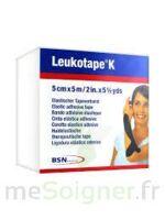 LEUKOTAPE K Sparadrap noir 5cmx5m à DIJON