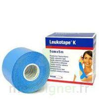 LEUKOTAPE K Sparadrap bleu ciel 5cmx5m à DIJON