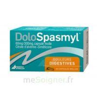 DOLOSPASMYL 60 mg/300 mg Caps molle Plq PVC/Alu/40 à DIJON