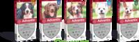 Advantix Solution externe petit chien 4-10kg 4 Pipettes/2,5ml à DIJON