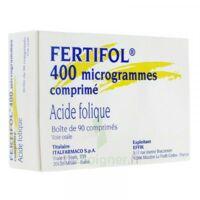 FERTIFOL 400 µg Cpr Plq/90 à DIJON