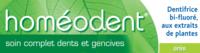 Boiron Homéodent Soin Complet Dents et Gencives Pâte Dentifrice Anis 2T/75ml à DIJON