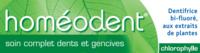 Boiron Homéodent Soin Complet Dents et Gencives Pâte Dentifrice Chlorophylle 2T/75ml à DIJON
