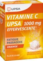 VITAMINE C UPSA EFFERVESCENTE 1000 mg, comprimé effervescent à DIJON